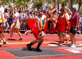 Francisco gay parade route san
