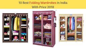 10 best collapsible wardrobe closet in india with 2018 i portable storage organizer wardrobe