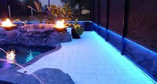 pool cage lighting. Pool Cage Lighting In Low Voltage .