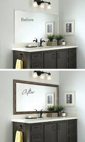 Framing A Large Mirror Best 20 Framing Mirrors Ideas On Pinterest Framing A Mirror