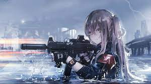 28 Anime Girls with Guns Wallpapers ...