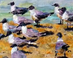 Afbeeldingsresultaat voor zee+meeuw schilderijen