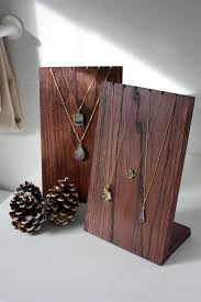 Wooden Jewellery Display Stands Enchanting Original Size Handmade Wooden Necklace Display Stand Necklace