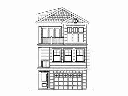 3 story house plans narrow lot. Three Bedroom House Plans For Narrow Lots Unique Home With Garage 3 Story Lot