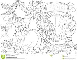 Small Picture Zoo Coloring With Page Zoo Animals Coloring Pages Free Printable