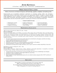 Resume Education Program Format