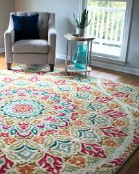 red and turquoise area rug designs