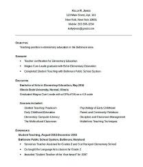 How To Write A Good Resume Summary Good Teachers Resume Format ...