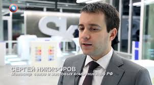 Nikolai Nikiforov, Russia's young Minister of Communications. Nikiforov's appointment in 2012 was supposed to usher in a new era of effective internet ... - Capture10-800x444