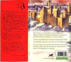 harry potter and the chamber of secrets cover cover back harry potter and the chamber of