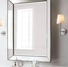 elegant 24x36 bathroom mirror of beaded wall 24 w walls bath and powder room bathroom mirror g98