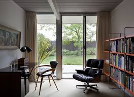 century office. Mid-century Home Office Space Modern-home-office Century R
