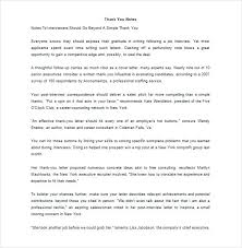 Cover Letter Job Interview Cover Letter After Interview Job