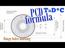 Flange Od Id Pcd Chart Pcd Pitch Circle Diameter Hindi Urdu Part 2