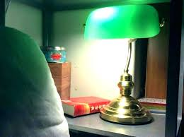 antique bankers desk lamp banker green library table vintage classic founders uk b