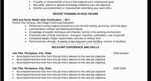 Skills Of A Cna For Resume Full Size Of Resumecna Resumes Fair