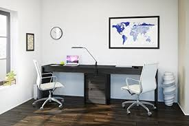 home office furniture for two people. desk for two people \u2013 #1 pick home office: nexera sereni-t office furniture