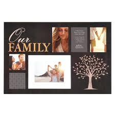 pinnacle 6 opening 4 in x 6 in family picture frame