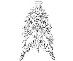 Small Picture Free Printable Goku Coloring Pages Bebo Pandco