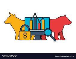 Bull Bear Dollar Chart Stock Market
