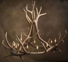 full size of lighting extraordinary faux deer antler chandelier 18 do it yourself white faux