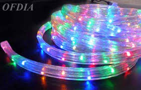 Image Soft Multicolor Christmas Rope Lights Ofdia Multicolor Christmas Rope Lights Rgb Leds Flat Wires Rope Light