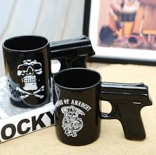 office coffee cups. Unique Office Pistol Grip Coffee Cups Mug Funny Gun Milk Tea Cup Creative Office  Ceramic Drinkware Mugs And From Home_shopping  To