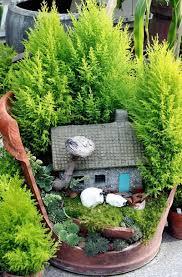 fairy garden pots. Broken-pot-fairy-garden-3 Fairy Garden Pots