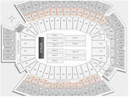 Lincoln Financial Field Seating Chart Seat Numbers Awesome