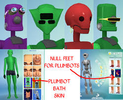 Lana CC Finds — Plumbots from The Sims 3 by Esmeralda (Sims 4)...