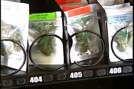 Marijuana Vending Machines Classy Marijuana Vending Machines Come To Victoria Printable Version