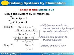 solving equations with elimination math solving systems elimination math solving systems substitution method learning algebra can