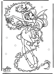 Winx Kleurplaat Colouring Pages Coloring Home