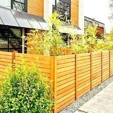 fence design. Backyard Wood Fence Ideas Catchy Horizontal Design Designs