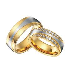 infinity wedding rings. high end luxury handmade custom gold color health titanium steel infinity wedding bands rings sets 1 pair-in from jewelry \u0026 accessories on i