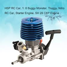 Nitro Engine Size Chart Hsp Rc Car 1 8 Buggy Monster Truggy Nitro Engine Sh 28 Cxp Engine M28 P3 4 57cc 3 8hp 33000 Rpm Side Exhaust Pull Starter Part