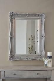 Fabulous Ornate SILVER Antique Style Overmantle / Wall Mirror with Deep  Ornate Frame and complete with Premium Quality Pilkington's Glass - Overall  Size: 32 ...