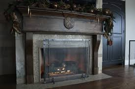rustic fireplace screens within nice freestanding fireplace screens ironhaus on rustic fireplace screens