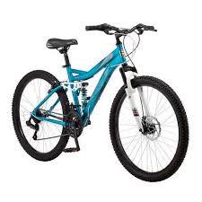 mongoose 26 bedlam 21 sd full suspension frame womens beginner mountain bike ebay