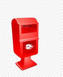 Designer Post Box Letter Box Red Post Box Png 735x999px Letter Box Cartoon