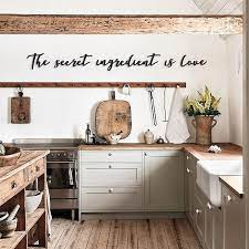 It develops a serene atmosphere. Kitchen Wall Decor Ideas For Every Style
