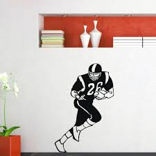 football vinyl wall decals wall decals chic college football wall decals  college football full image for . football vinyl wall decals ...