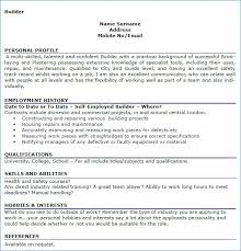 Sample Of Hobbies And Interests On A Resume Resume Layout Com