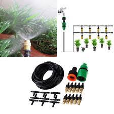 garden patio yard water mister air misting cooling irrigation system sprinkler