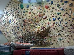 amazing home climbing wall construction