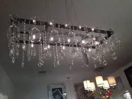 image of wine glass chandelier long