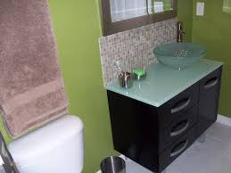 Bathroom Vanities Height Where To Stop Tile Backsplash