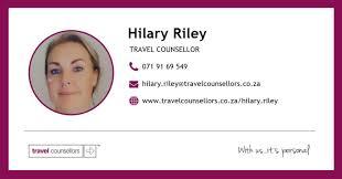 Hilary Riley - Travel Counsellor - पोस्टहरू | Facebook