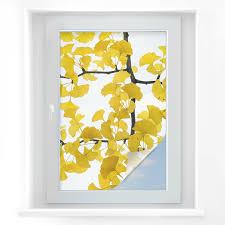 Sichtschutzfolie Kadam Flora Flora Flora Ginko Fensterfolie