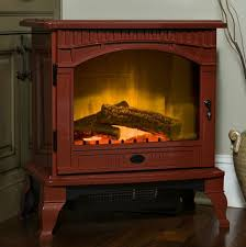 dimplex lincoln cranberry electric fireplace stove with remote control ds5629cr